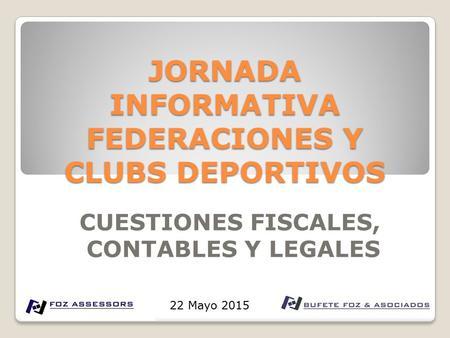 Resultado de imagen de obligaciones fiscales club deportivo