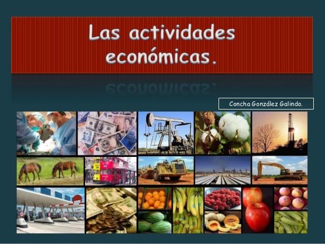 Resultado de imagen de actividades economicas